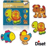 4 PUZZLES FORM TORTUGA