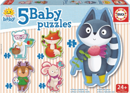 BABY PUZZLE MAPACHE