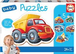 BABY PUZZLE CAMION BOMBEROS