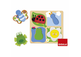 4 PUZZLES FORM BABY MARIPOSA